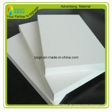 Baumaterial für dekoratives PVC-Schaumstoffbrett