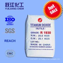 Rutilo Dióxido de titânio (R1930) (Dupont Equivalent Grades)