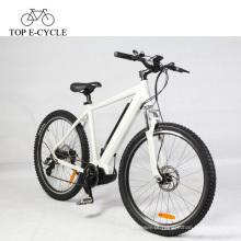 Bicicleta de montanha elétrica da suspensão de 36V 250W com o ebike meados de ebf do motor do bafang