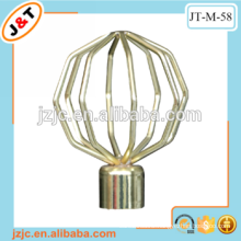 hign quality fancy retractable led curtain rods