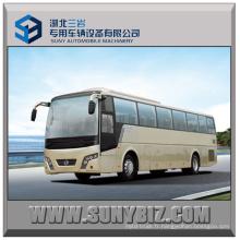 51seats Snow Leopard Long Distance Coach 4X2 Bus interurbain