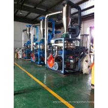 Pulverizador plástico rígido del PVC 300kg