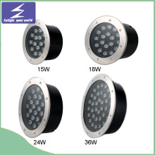 12V/220V 15/18/24/36W Stainless High Power Outdoor LED Buried Light