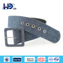 Wide Waist Canvas Brand Belt For Coat