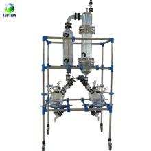 Destilación de ruta corta del equipo de laboratorio caliente con 0.098 Mpa