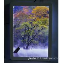 Flat Aluminum Snap Frame Slim Light Box