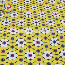Cotton Polyester Spandex Satin Printed Fabric for Shirt Garment (GLLML197)