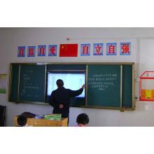 Schiebetafel für TV oder interaktives Whiteboard mit Projektor