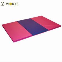 3 exercices de gymnastique se pliants de gymnastique de pliage de tapis de mousse d'arts martiaux