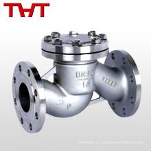 Válvula de retención de flujo inverso de pistón de gas natural de acero inoxidable 2
