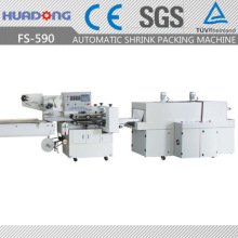 Automatic High Speed Flow Shrink Wrapper Shrinking Wrapping Machine