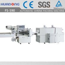 Machine d'emballage rétractable horizontale à grande vitesse de rétrécissement de savon de rétrécissement
