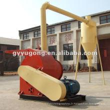 Machine de concassage de paille, de tige, de frites de bois