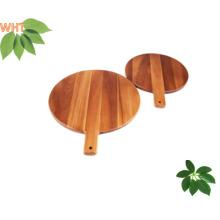 Carré en bois en caoutchouc Tablier de coupe en bois de cuisine
