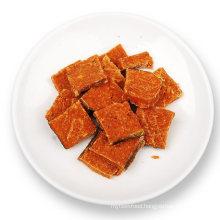 Square Salmon Chicken Meat Fish Food Dog Treat