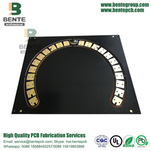 Prototype PCB Black Ink 2 Layers PCB FR4 Tg135 PCB ENIG