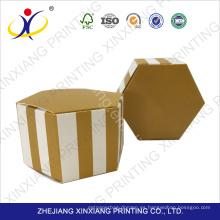 Color personalizado! Caja de papel dulce nueva venta caliente del estilo