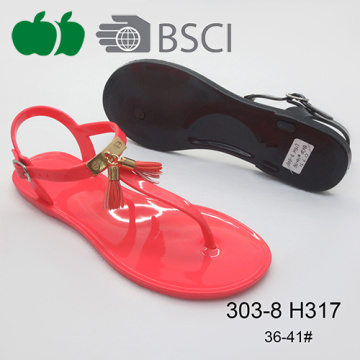 Ladies Popular High Quality Summer Fashion Jelly Sandals