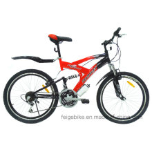 """Bicicleta de montaña con suspensión completa de 18 """"y 24"""" / 26 """"(FP-MTB-FLSP002)"""