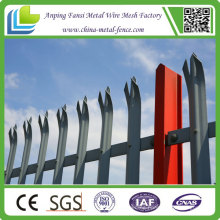 2015 New Arrival Hot Dipped Galvanized Palisade Fence with High Quality