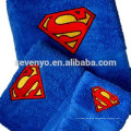 Toalla de algodón 100% personalizada de Superman