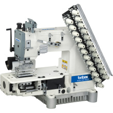 Br-008 Multi -Needle Cylinder Bed Double Chain Stitch Machine