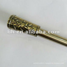 Poteaux de rideaux en fer pour décoration de maison fabriqués en Chine