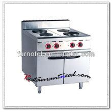 K010 eléctrico con el gabinete 4 placas cocina del avellanador