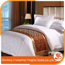 Hot sale quality 100% polyester luxury bed linens for hotel
