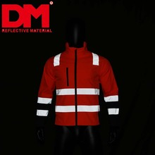 workwear reflective safety reflective security fleece jacket
