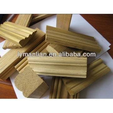 iraq engineered teak wood moulding with black line