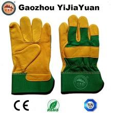 Schützende industrielle Leder Arbeitshandschuhe