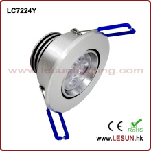 Recessed 5W LED Under Cabinet Light/Ceiling Light LC7224y
