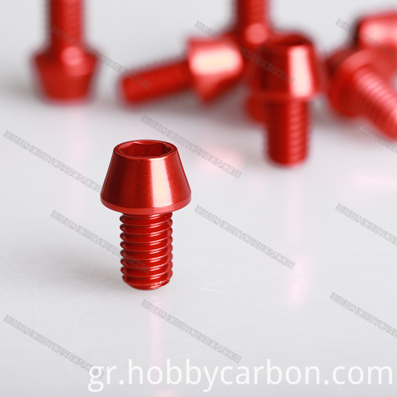 Cone aluminum screw