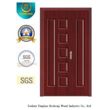Porte de forces de défense principale de preuve de l'eau de style chinois pour la pièce avec la couleur blanche (xcl-830)