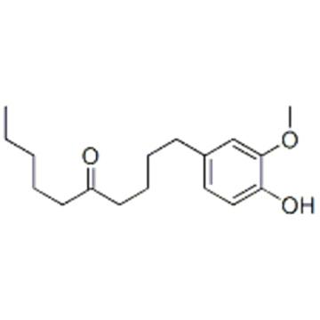 1-(4-hydroxy-3-methoxyphenyl)decan-5-one  CAS 27113-22-0