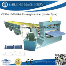 CE Approuvé Plaque ondulée Glazed Tile Board Panneau Rolling Machine