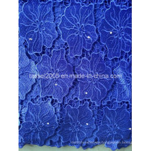 2016 Latest Design African Water Soluble Laceafrican Cord Lace/Guipure Lace Fabric for Women Dress