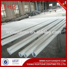 galvanized and powder coating round street lighting column