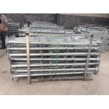 Galvanización pila de tierra / pila helicoidal / pila de tornillo