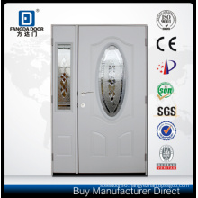 Fangda Pre-Hung Mom and Son Glass Double Entry Door