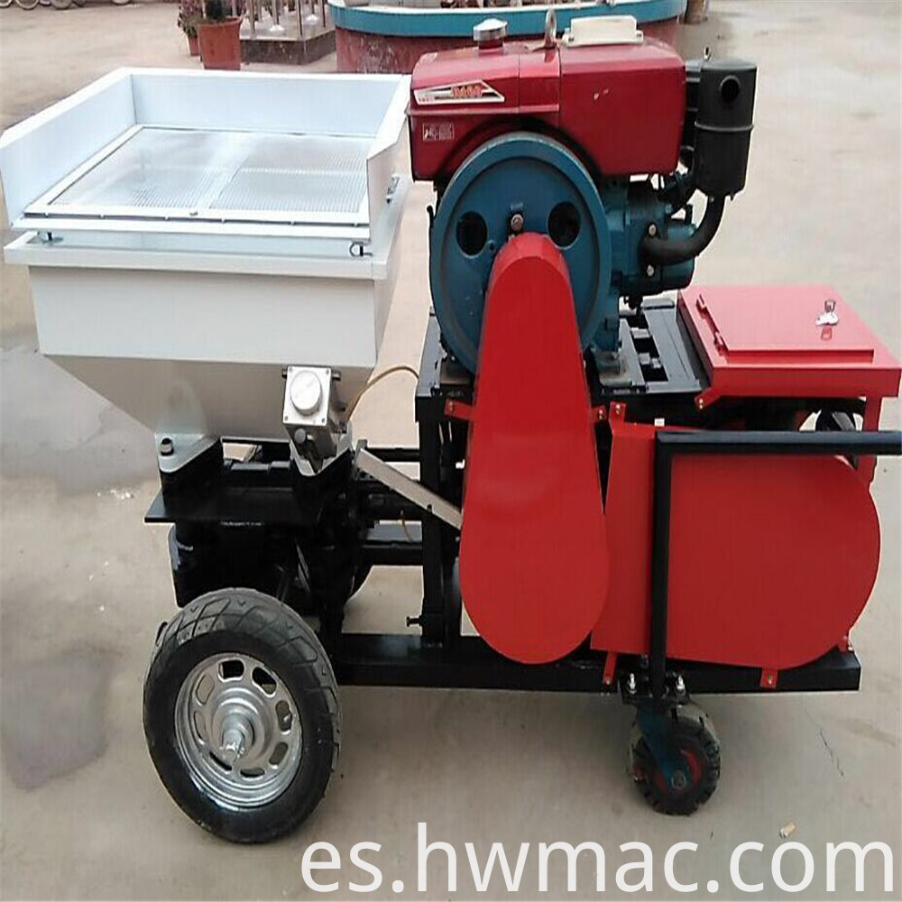 cement spraying machine