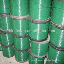 Fil enduit de PVC de haute qualité et coloré (usine)
