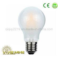 3.5W A60 Frosted E27 220V Dim LED filamento de luz