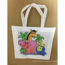 crayon coloring me funny pp non woven shopping bag