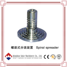 Extruder Spiral Spreader with CE Certification