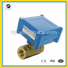 8mm DC3-6V motor drive control valves with both female thread for HVAC and Fan coil and,hot water cycle system