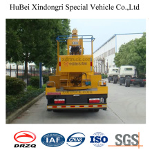 Dongfeng 12m Aerial Working Platform Truck with Crane