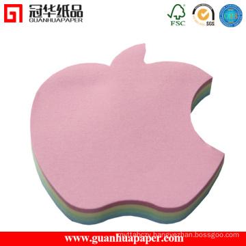 3X3 Cheap Custom Memo Pad Apple Shaped Memo Pad