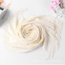 High quality popular scarf Cashmere winter hijab Custom design blank scarves